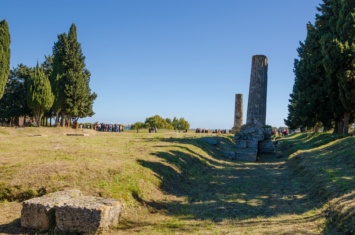 Zeus Architettura D Interni.Il Tempio Di Zeus Olimpio Questo Sconosciuto Liberta Sicilia