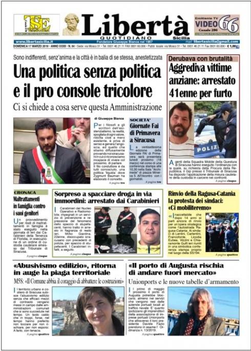 thumbnail of Libertà 17-03-19