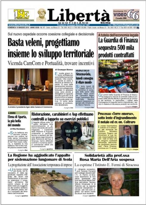 thumbnail of Libertà 19-05-19