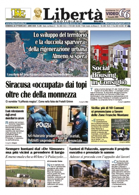 thumbnail of Libertà Sicilia 20-19-19