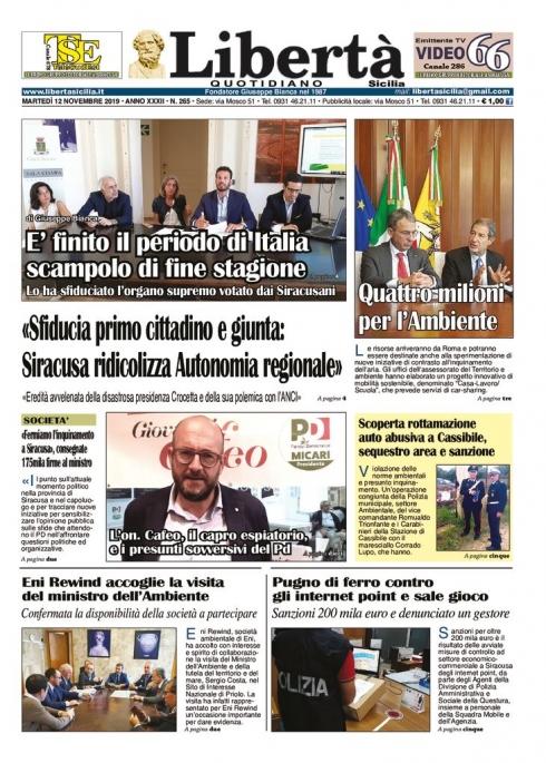 thumbnail of Libertà Sicilia 12-11-19