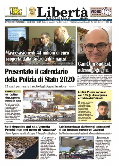 thumbnail of Libertà Sicilia 14-11-19