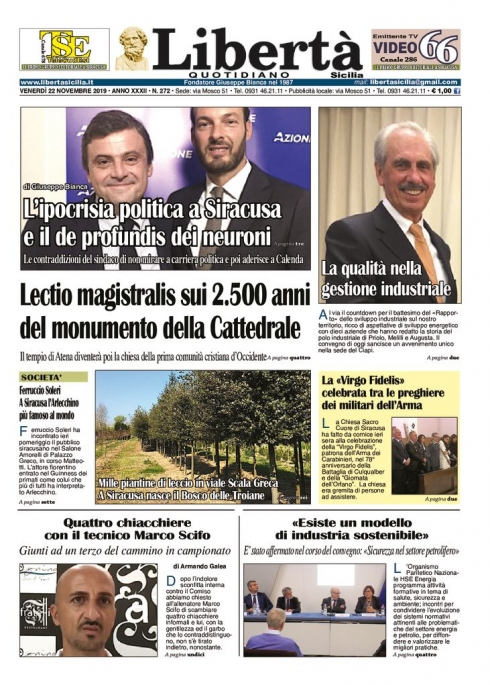 thumbnail of Libertà Sicilia 22-11-19