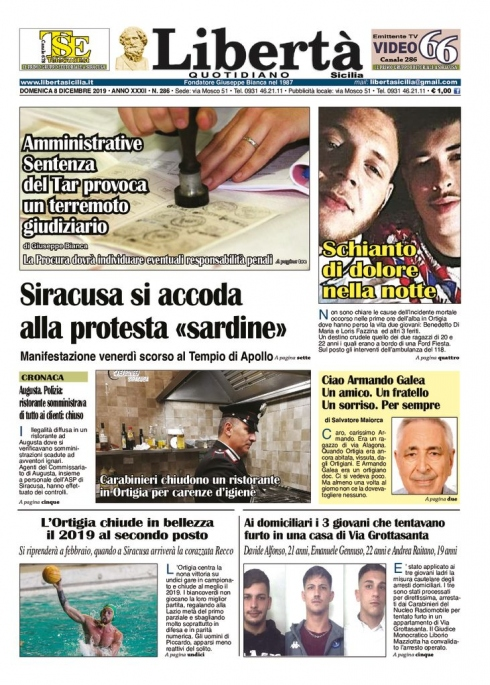 thumbnail of Libertà Sicilia 08-12-19