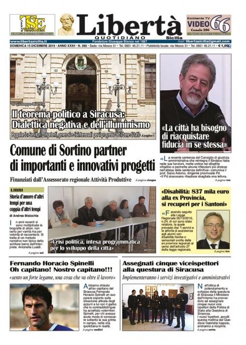 thumbnail of Libertà Sicilia 15-12-19