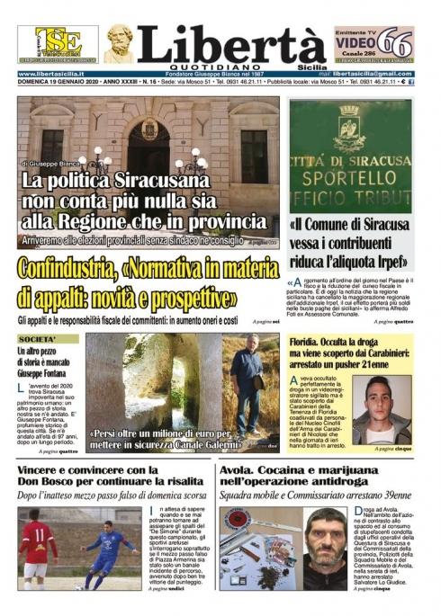 thumbnail of Libertà Sicilia 19-01-20