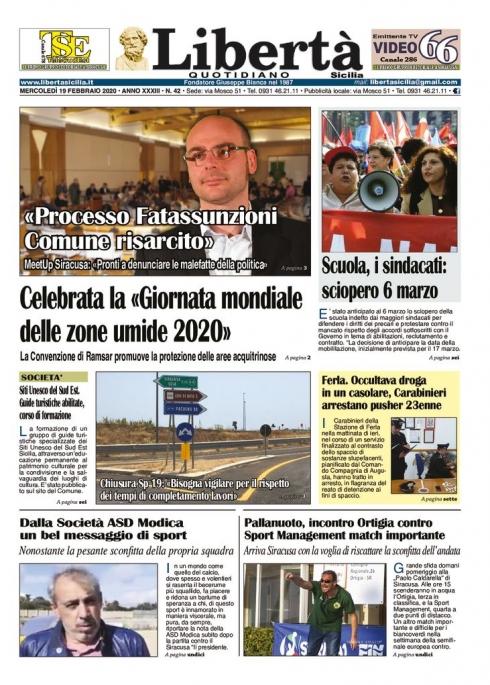 thumbnail of Libertà Sicilia 19-02-20