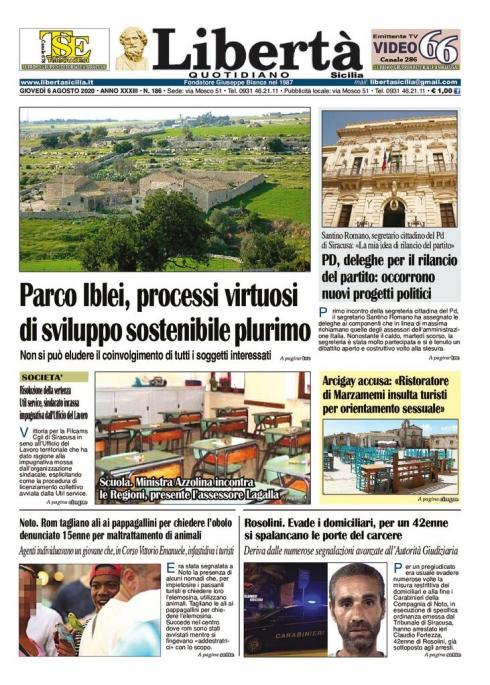thumbnail of Libertà Sicilia 06-08-20