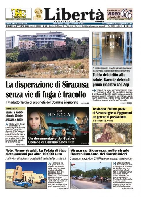 thumbnail of Libertà Sicilia 22-10-20