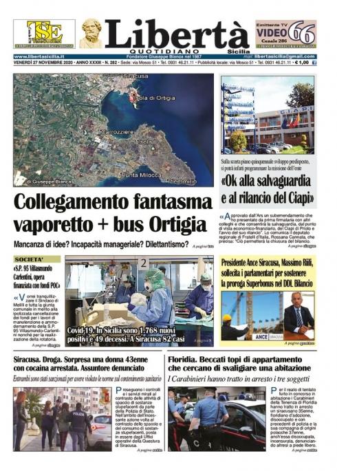 thumbnail of Libertà Sicilia 27-11-20