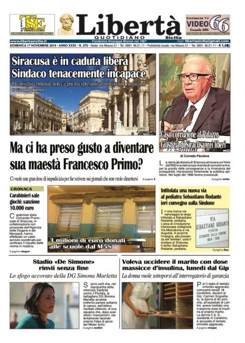 thumbnail of Libertà Sicilia 17-11-19