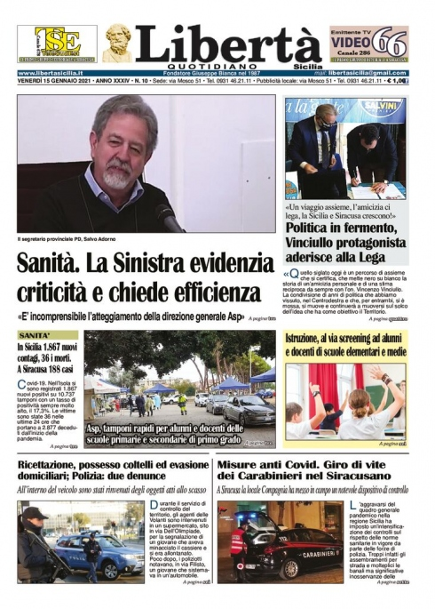 thumbnail of Libertà Sicilia 15-01-21