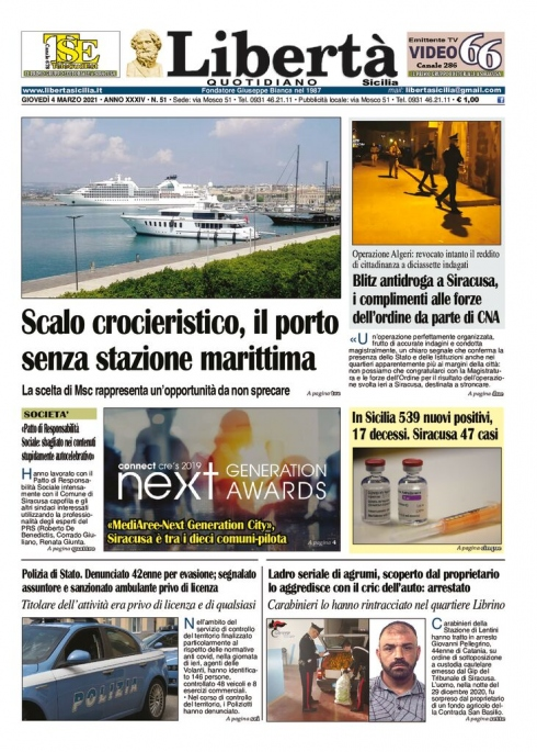 thumbnail of Libertà Sicilia 04-03-21