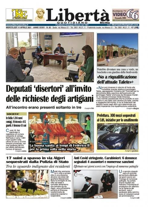thumbnail of Libertà Sicilia 14-04-21