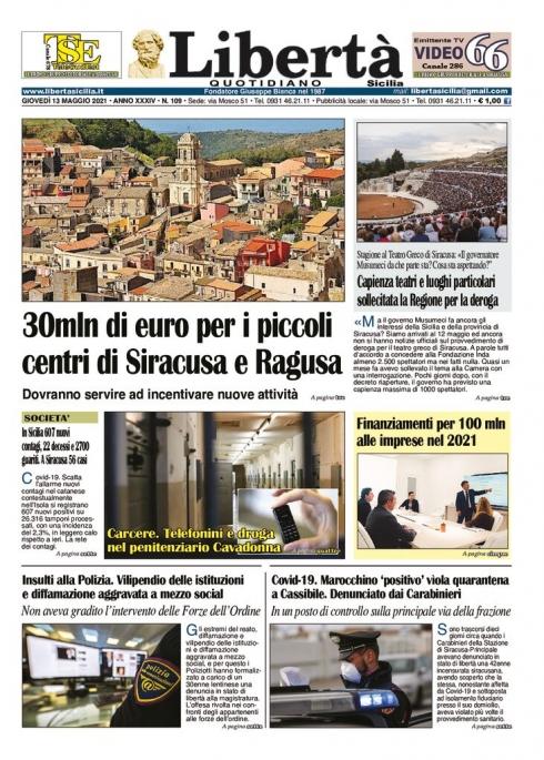thumbnail of Libertà Sicilia 13-05-21